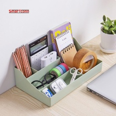 Price New Plastic Makeup Organizer Storage Box Multipurpose Candy Color Office Sundries Cosmetic Container(Green Intl Oem