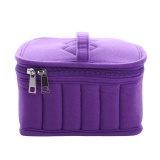 Buy Cheap New Velvet Essential Oil Carrying Storage Case Travel Bag With 30 Compartment Purple Intl