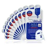 Low Price Newest【Mediheal】N M F Aquaring Ampoule Mask 10Pcs