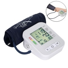Sale Niceeshop Digital Electronic Lcd Screen Arm Blood Pressure Monitor Automatic Pulse Meter Home Sphygmomanometer Intl China Cheap