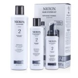 Cheapest Nioxin System 2 System Kit For Fine And Noticeably Thinning Hair Cleanser 300Ml Scalp Therapy 150Ml Scalp Treatment 100Ml 3Pcs