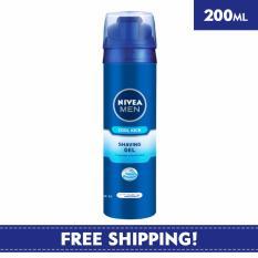 Top Rated Nivea Face Care For Men Shaving Cool Kick Shaving Gel 200Ml