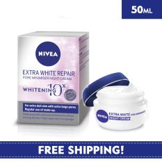 Nivea Face Care For Woman Moisturiser Extra White Repair Night Cream 50Ml Price