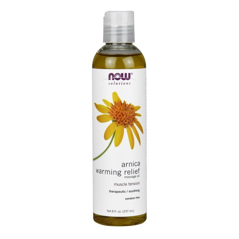 Buy Now Foods Arnica Warming Relief Massage Oil, 8 fl oz (237 ml) Singapore