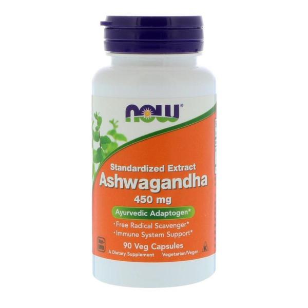 Buy Now Foods Ashwagandha 450 mg 90 Veg Capsules Singapore