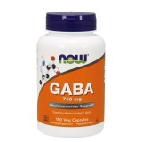 Now Foods Gaba 750Mg 100 Veg Capsules Cheap