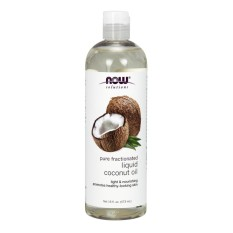 Now Foods Liquid Coconut Oil Pure Fractionated 16 Fl Oz 473 Ml On Line