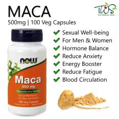 Compare Price Now Foods Maca 500Mg 100 Veg Capsules Now Foods On Singapore