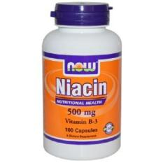 Wholesale Now Foods Niacin 500 Mg 100 Capsules
