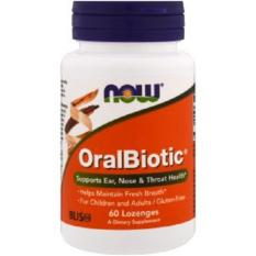 Now Foods, Oralbiotic, 60 Lozenges By Tokohealth Sg.