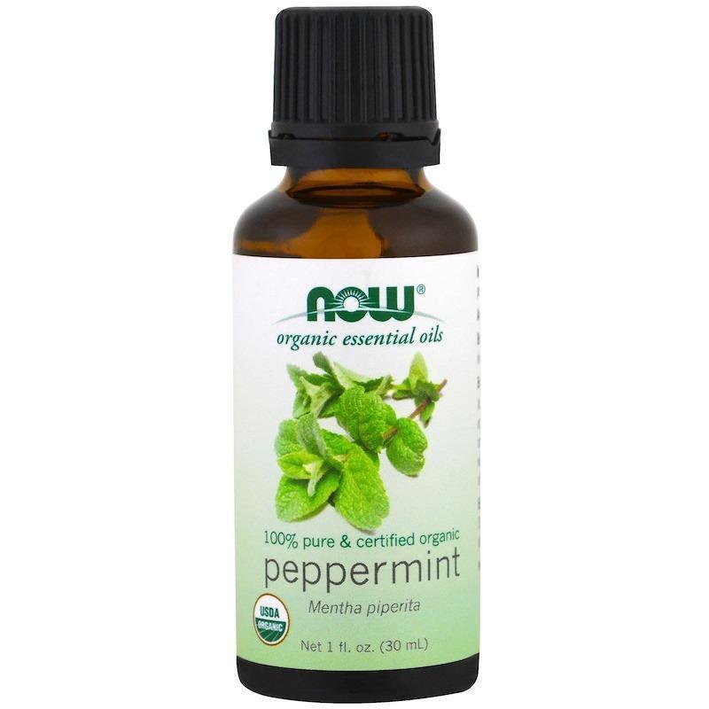 Buy Now Foods, Organic Essential Oils, Peppermint, 1 fl oz (30ml) Singapore