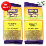 Buy Now Foods Single 300 Empty Vcaps 2 Packs Online