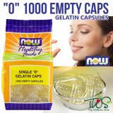 Now Foods Single Gelatin Caps 1000 Empty Capsules Singapore