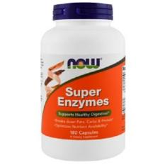 Now Foods, Super Enzymes, 180 Capsules By Tokohealth Sg.