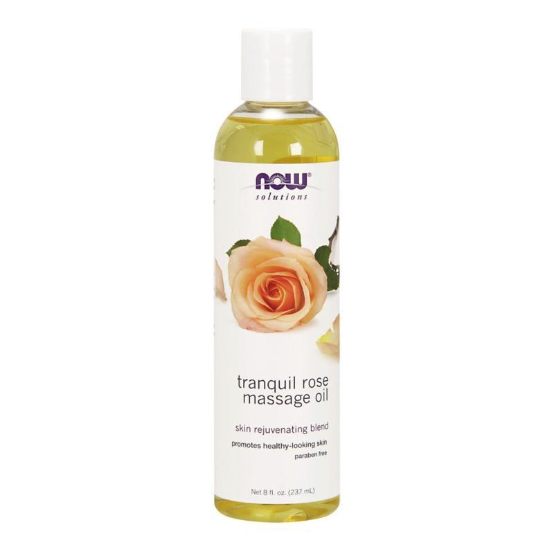 Buy Now Foods Tranquil Rose Massage Oil 8 fl oz (237 ml) Singapore
