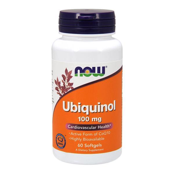 Buy Now Foods Ubiquinol 100 mg 60 Softgels Singapore