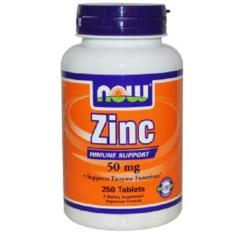 Review Now Foods Zinc 50 Mg 250 Tablets Now Foods On Singapore