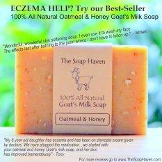 The Soap Haven Oatmeal Honey Goat Milk Soap (#1 Best Seller for Eczema Treatment )