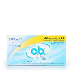 How To Buy O B Tampon Procomfort Regular 32S