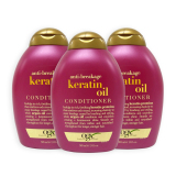 Compare Price Pack Of 3 Ogx Organix Anti Breakage Keratin Oil Conditioner 385Ml 7522 On Singapore