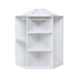Review Oh Rotating Make Up Organizer Cosmetic Display Brush Lipstick Storage Stand White China