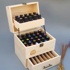 Mr Oils Three Tier Wooden Essence Oil Storage Box On China