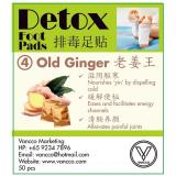 Compare Vancco Detox Foot Patch Old Ginger 100 Pcs