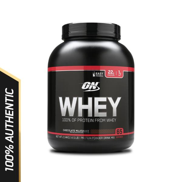 Optimum Nutrition Whey 4.5 lbs - Chocolate Milkshake