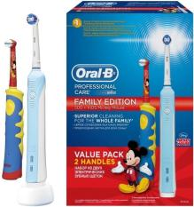 Sale Pre Order Oral B 500 *D*Lt Kids Family Edition Bundle Mickey Mouse Eta 4 Working Days Oral B Branded