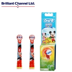 Promo Oral B Eb10 2K Disney Mickey Mouse Stages Power Kids Electric Toothbrush Replacement Heads Intl
