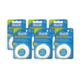 Pack Of 6 Oral B Essential Mint Waxed Dental Floss 50M 5029 For Sale Online