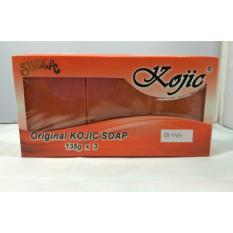 Promo Original Kojic Soap Triple Pack