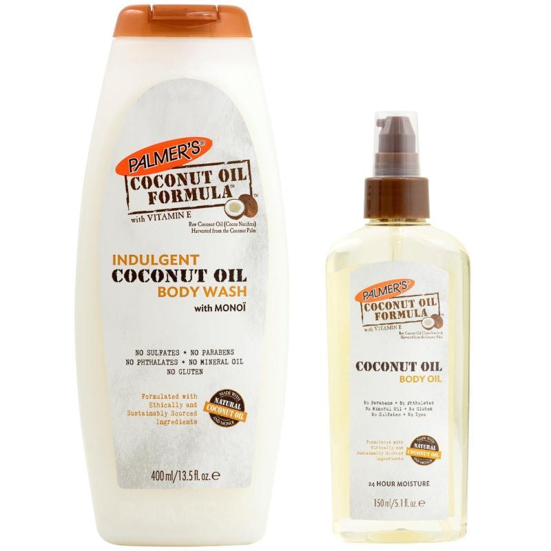 Buy Palmers Coconut Oil Body Wash + Coconut Body Oil Singapore