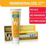 Get The Best Price For Pearlie White A R T Active Remineralization Fluoride Free Toothpaste 110Gm