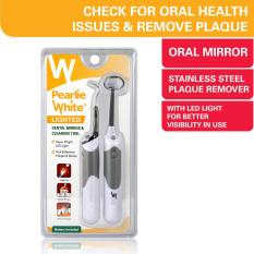 Sale Pearlie White Lighted Dental Mirror Cleaning Tool Singapore