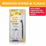Sale Pearlie White Sonic Tooth Stain Eraser With Plaque Remover Online Singapore