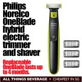 Compare Philips Norelco Oneblade Hybrid Electric Trimmer And Shaver Cheapest Price