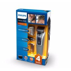 Retail Price Philips Series 3000 Multigroom Qg3332 23 All In One Beard Hair Trimmer 2 Year Warranty