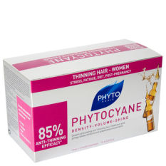 Compare Price Phyto Phytocyane Densifying Treatment Serum 12 X 7 5Ml On Singapore