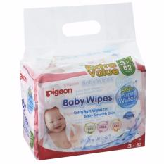 Pigeon Baby Wipes 82 Sheets Water Base 3 In 1 Bag Discount Code