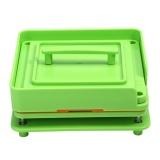 Plastic 100Holes Capsule Powder Filler Plate Manual Filling Machine Tool Green Intl Promo Code