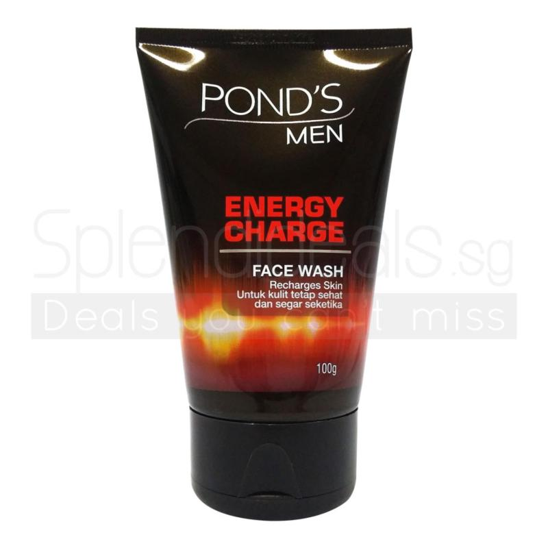 Buy (Pack of 6) PONDS MEN Face Wash - Energy Charge 100g - 4696 Singapore