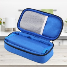Portable Diabetic Carrying Case Insulin Cooler Bag Holder Case Organizer Blue Intl Lower Price