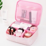 Portable Toiletry Cosmetic Bag Waterproof Makeup Make Up Wash Organizer Storage Pouch Travel Kit Handbag Pink Style B Intl Compare Prices