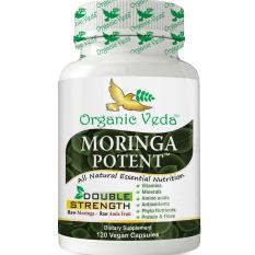 Latest Moringa Potent 120 Veg Capsules ★ Ingredients Usda Organic Certified Moringa Amla Pepper ★ 100 Pure And Natural Raw Herbal Dietary Super Food Supplement Non Gmo Gluten Free Us Fda Registered Facility