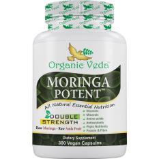 Who Sells Moringa Potent 300 Veg Capsules ★ Ingredient Usda Organic Certified Moringa Amla Pepper ★ 100 Pure And Natural Raw Herbal Dietary Super Food Supplement Non Gmo Gluten Free Us Fda Registered Facility The Cheapest