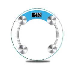 Precision 150Kg Personal Scales Electronic Bathroom Human Body Floor Scale Portable Body Weighing Balance Weight Device Blue Intl Review