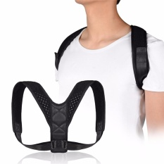 Buy Cheap Premium Adjustable Upper Back Brace Posture Corrector And Clavicle Support Brace For Men And Women Improve Bad Posture Thoracic Kyphosis Shoulder Alignment Upper Back Pain Relief Intl