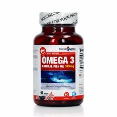 Great Deal Principle Nutrition Omega 3 Natural Fish Oil 50Pcs
