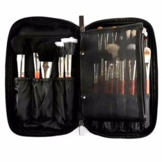 Price Comparisons Pro 10 Cosmetic Makeup Brush Bag Case Handle Organizer Holder Pouch Pocket Kit Intl